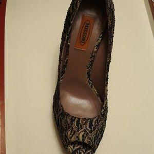 Missoni high heels